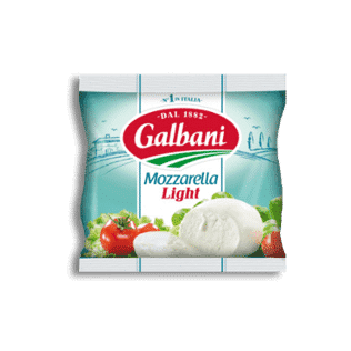 Galbani Mozzarella Light 125g im Beutel