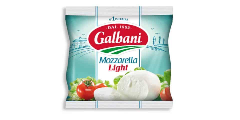 Mozzarella Light 125g Kugel Galbani Produktabbildung