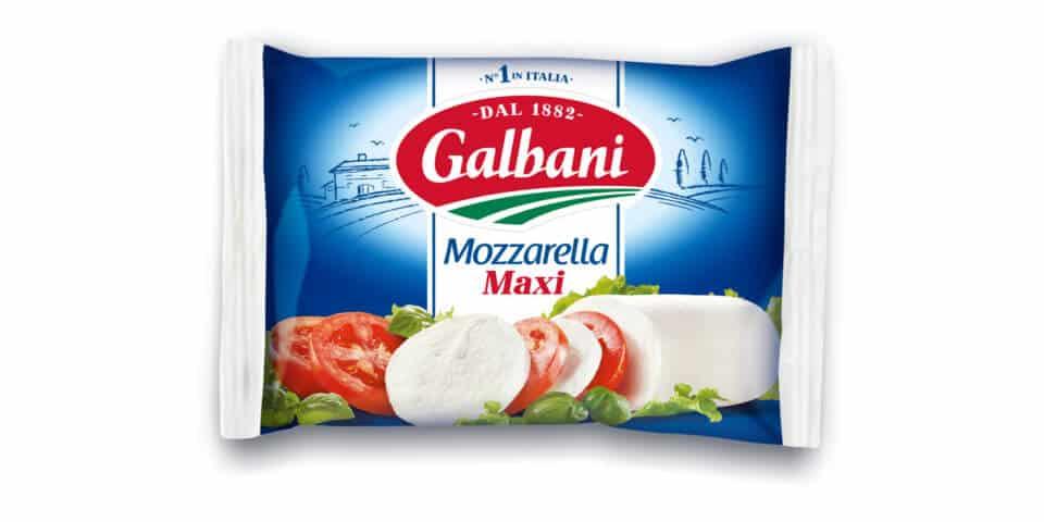 Mozzarella Maxi 200g Galbani Produktabbildung
