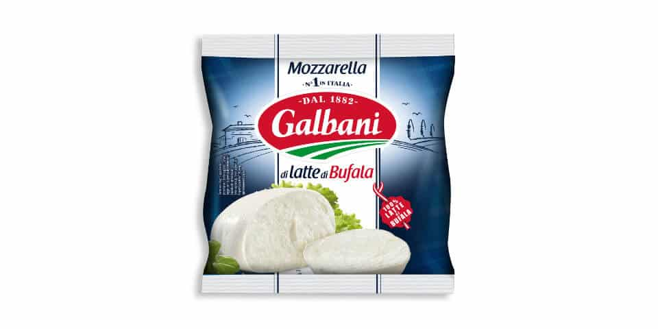 Büffelmozzarella Galbani 125g Kugel Produktabbildung