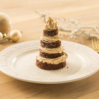 Brownie Tiramisu Bäumchen