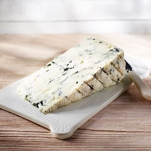 Gorgonzola DOP - Stück auf Brett - Galbani Blauschimmelkäse