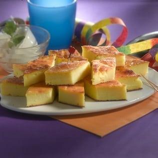 Italienischer Grießkuchen mit Ricotta Migliaccio