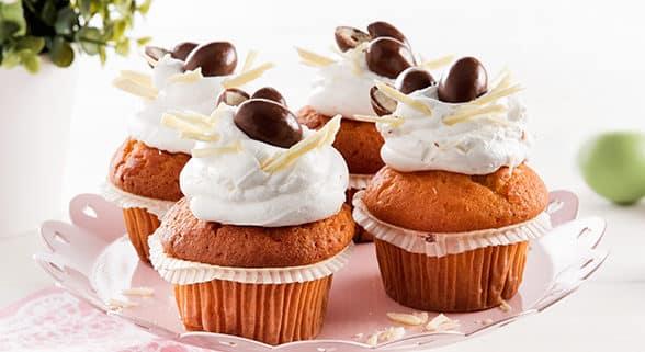 Cupcakes mit Mascarpone-Füllung