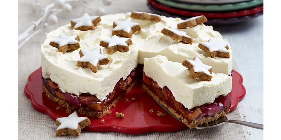 Pflaumen Mascarpone Torte Galbani Rezept