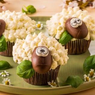 Schoko-Schäfchen Muffins mit Galbani Mascarpone