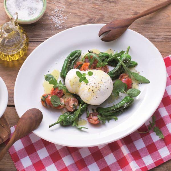Antipasti-Salat mit Gran Tradizione Mozzarella