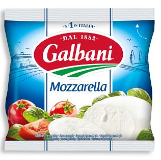 Mozzarella 125g Kugel Galbani Produktabbildung