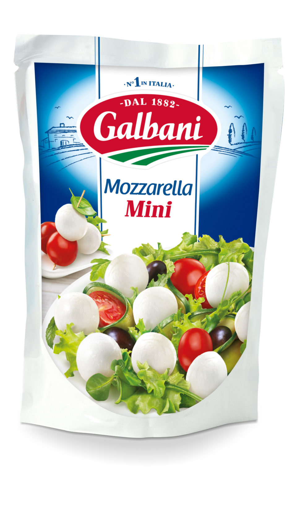 EW DESIGN 2018_032_3D Mozzarella Mini 150g NEW PACK