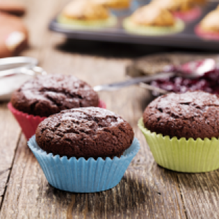 Ricotta-Schoko-Muffins