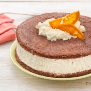 Schokoladenkuchen mit Mascarpone-Füllung
