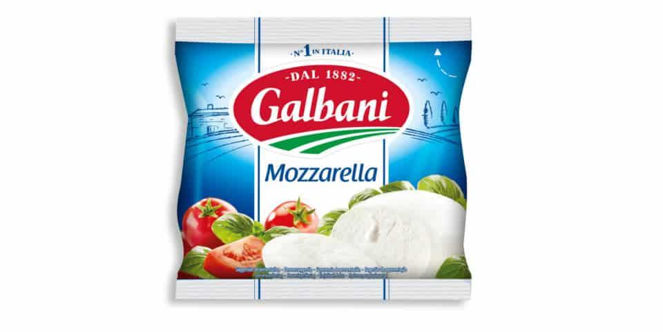 wieviel fett hat mozzarella