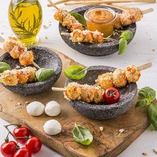 Mozzarella-Grissini-Sticks